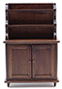 CLA10915 - Hutch, Walnut