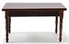 CLA10917 - Table, Walnut