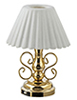 HW2303 - Led Ornate Table Lamp With Fluted Shade