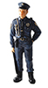 HW3059 - Officer Bill Resin Doll