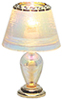 HW2528 - Iridescent Teardrop Table Lamp