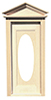 HW6002 - Victorian Oval Door W/Window