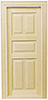 HW6008 - 5-Panel Classic Interior Door
