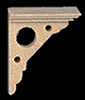HW7027 - Vict Eaves Bracket, 4/Pk