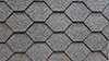 Decorative Black Hexagon Asphalt Shingles