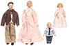AZ06816 - Porcelain Doll Family/4