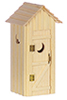 AZD2504 - Single Seater Outhouse