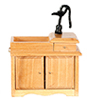 AZD2678A - Wet Sink, Oak/Cb