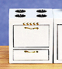 AZD3777C - Kitchen Stove, White/Cb