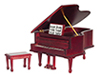 AZD4120 - Grand Piano, Mahogany