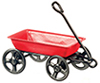 AZD6376 - Metal Wagon, Red, 1/2 In