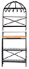 AZD6815 - Metal Kitchen Rack, Blk/Cb