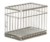 AZEIWF308 - Large Dog Cage Galvanized/Cb