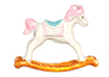 AZG7021 - Small Metal Rocking Horse