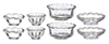 Tableware Set of Plates & Bowls