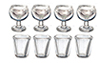 Tableware Set, Small Glass, 8pc