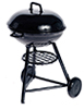 AZG8627 - Round Charcoal Grill, Large