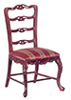 AZP3311 - Normany Fr. Side Chair, Mahogany