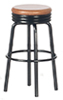 AZT4241 - 1950'S Stool, Black/Oak