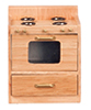 AZT4263 - Kitchen Stove, Oak