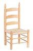 AZT4293  - Ladder Back Side Chair/Ok