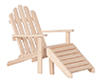 AZT4616 - Adirondack Chair, Unfinished