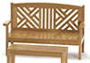 AZT5940 - Garden Bench/Maple
