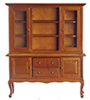 AZT6552 - China Cabinet, Walnut/Cb