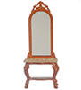 AZT6746 - Lincoln Hall Stand W/Mirror