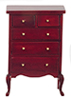 AZT3203 - High Chest, Mahogany