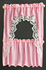 BB52404 - Curtains: Ruffled Cape Set, Pink