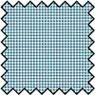 BPFAM02 - Silk Fabric: Checkers - Blue