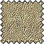 BPFAN00 - Silk Fabric: Leopard