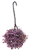 CAHBL14 - Hanging Basket: Burgundy-Mauve, Large