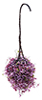 CAHBS14 - Hanging Basket: Burgundy-Mauve, Small