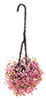 CAHBS15 - Hanging Basket: Pink-Fuchsia, Small