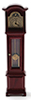CLA00430 - Working Grandfather Clock