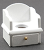 CLA01225 - Potty Chair, White