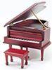 CLA04120 - Grand Piano W/Bench