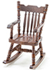 CLA05321 - Boston Rocker, Walnut