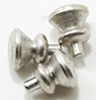 CLA05535 - Round Knobs, 6/PK, Satin Nickel