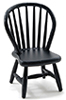 Windsor Side Chair, Black
