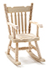 CLA08651 - Rocking Chair, Unfinished
