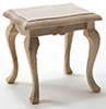 CLA08656 - Side Table, Unfinished