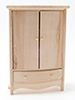 CLA08671 - Armoire, Unfinished