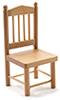 CLA10007 - Chair, Oak