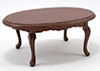 CLA10024 - Oval Table, Walnut