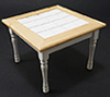 CLA10218 - Table, Oak/White
