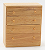 CLA10486 - Chest Of Drawers, Oak