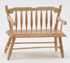 CLA10511 - Deacon Bench, Oak